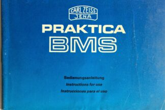 Praktica BMS Instructions for use