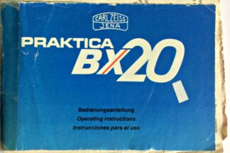 Praktica BX20 Instructions