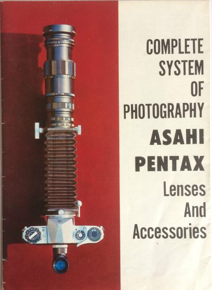 Asahi Pentax Complete system of photography