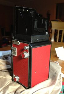 Minlota Autocord TLR Red Leather