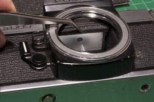 Camera mirror damper foam replacement