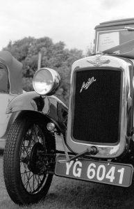 1934 Austin Taken with Fujica ST605 Vintage SLR film camera and Fujinon 55mm 1:8 Lens
