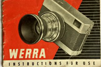 Werra Instructions for use