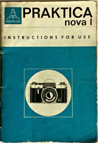 Praktica Nova I Instructions for use