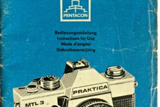Praktica MTL3 Instructions for use