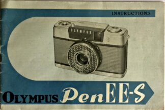 Olympus Pen EE-S Instructions