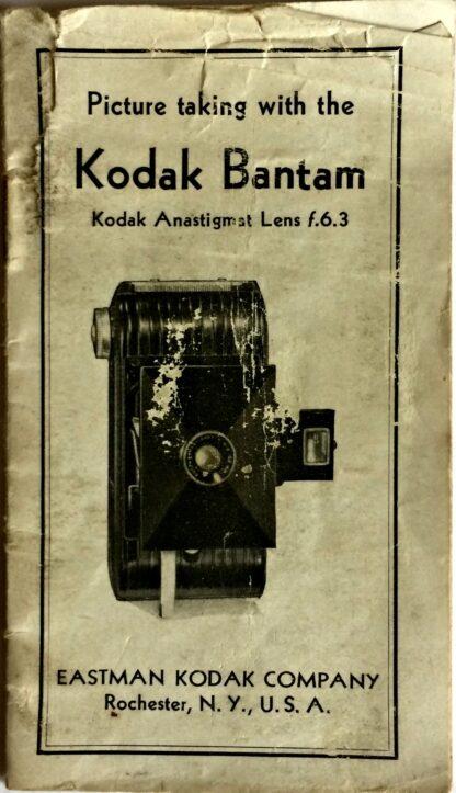 Kodak Bantam Instructions