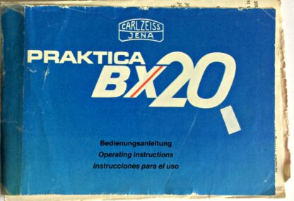 Praktica BX20 Instructions