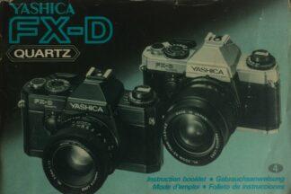 Yashica FX-D Quartz Instructions