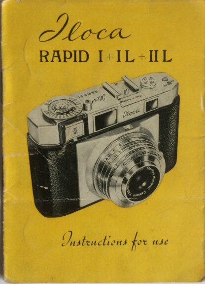 Jloca Rapid Instruction booklet