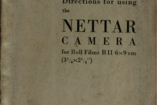 Zeiss Netter Instruction Booklet