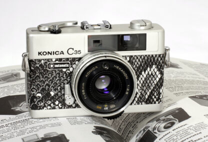 Konica C35 Camera Leather Skin by Millys Cameras