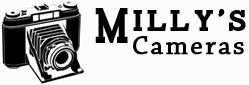 Millys Cameras Logo designed by Darron Barnes