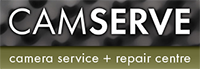 Logo and link to Camserve who offer camera repairs